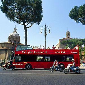 110 open bus rome